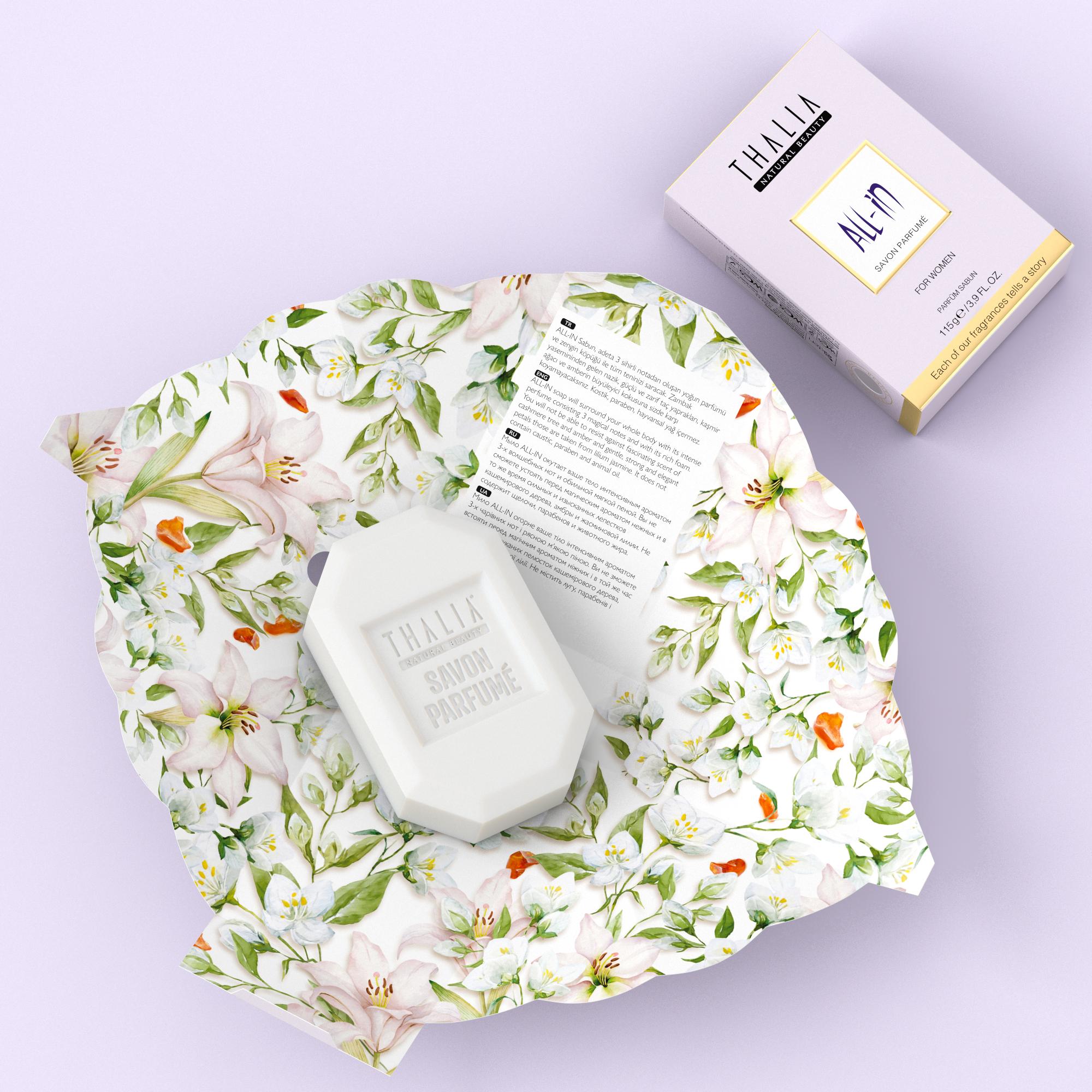 All-In Parfüm Sabun for Women - 115 gr.