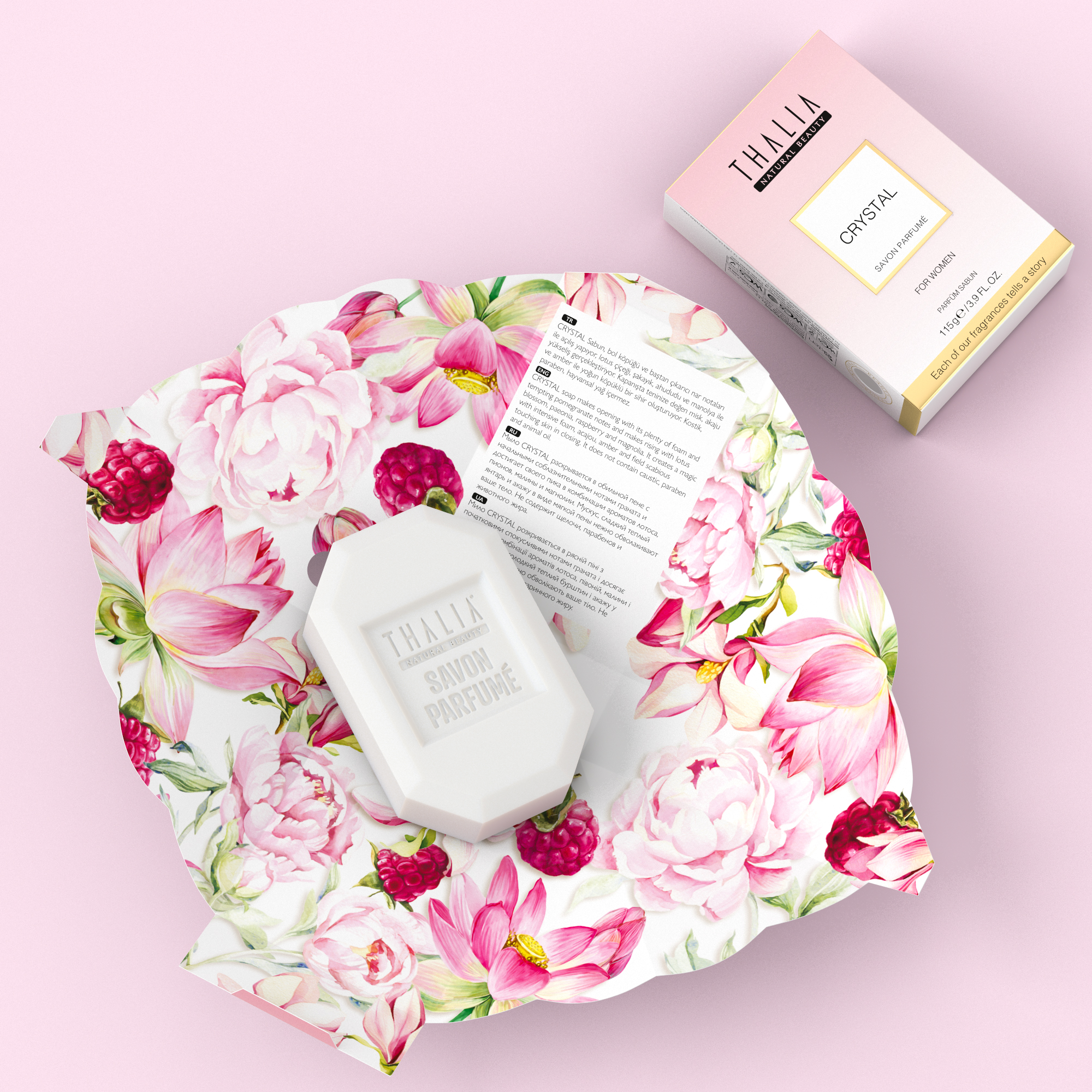 Crystal Parfüm Sabun for Women - 115 gr.