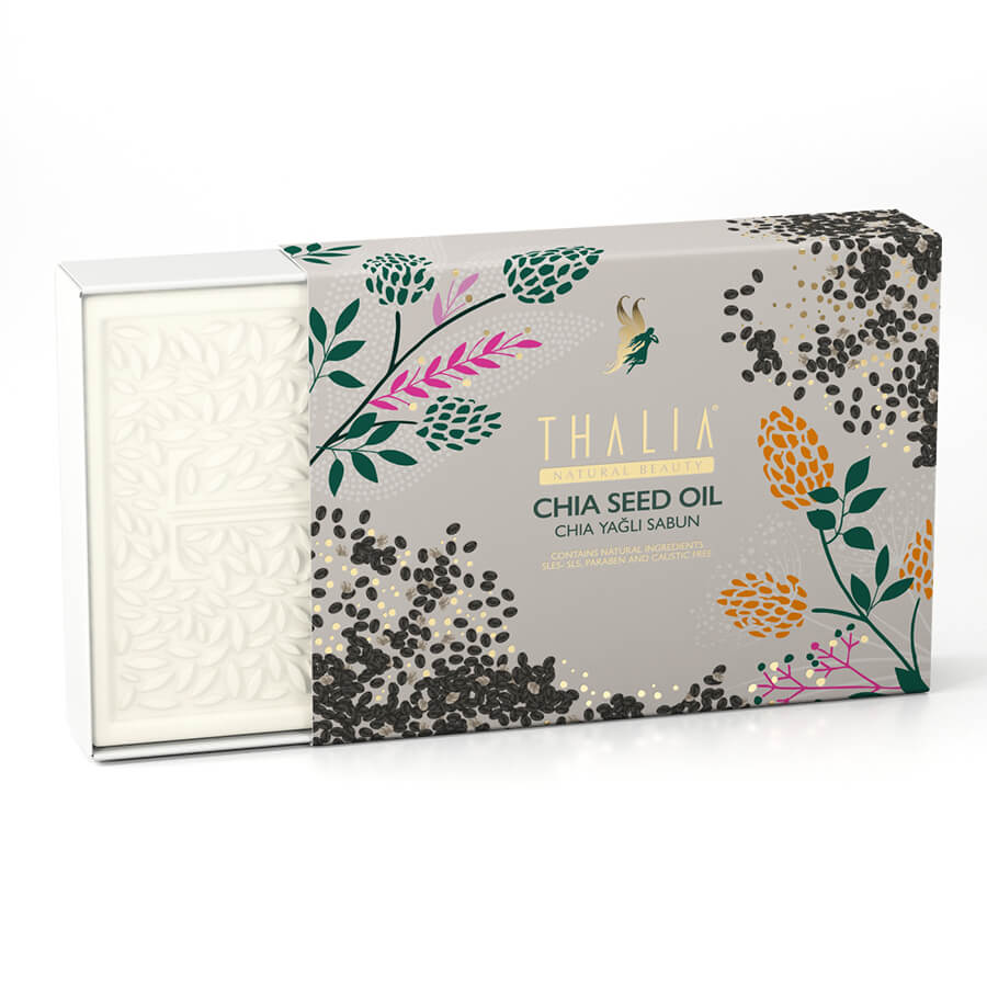 Doğal Chia Yağlı Sabun - 150 gr