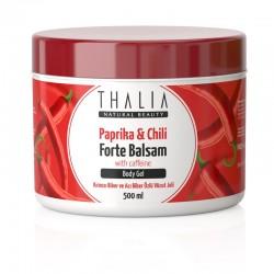 Thalia - Kırmızı Biber ve Acı Biber Özlü Masaj Jeli Forte Balsam - 500 ml
