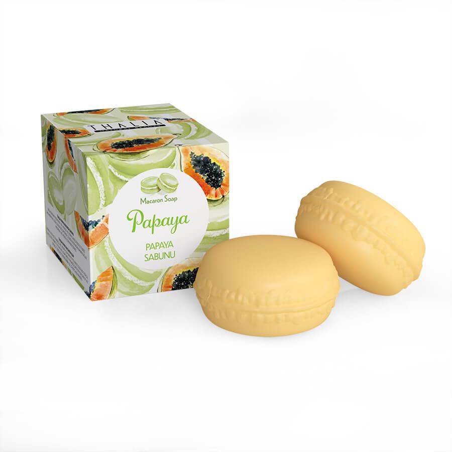 Papaya Macaron Sabunu - 100 gr