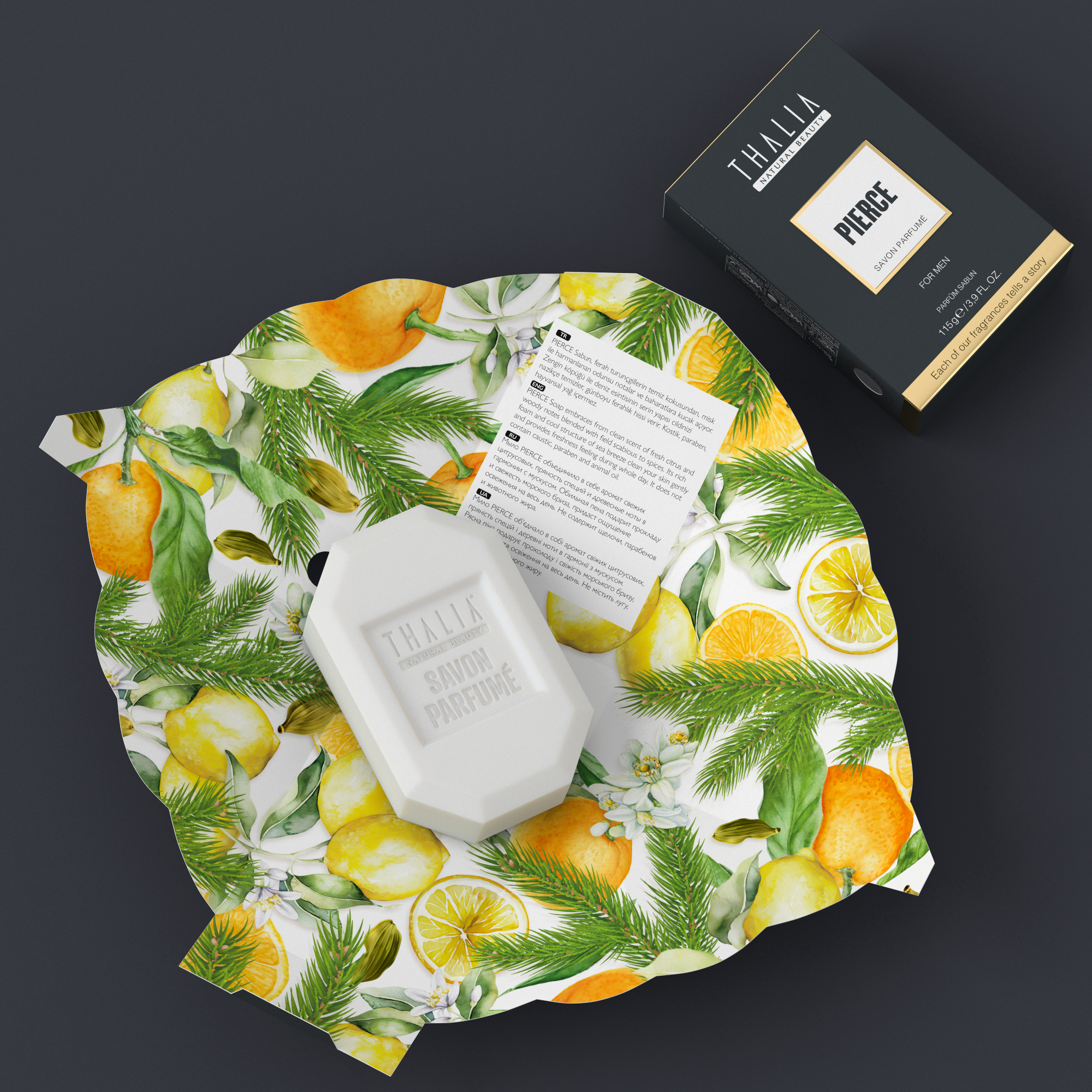 Pierce Parfüm Sabun for Men - 115 gr.