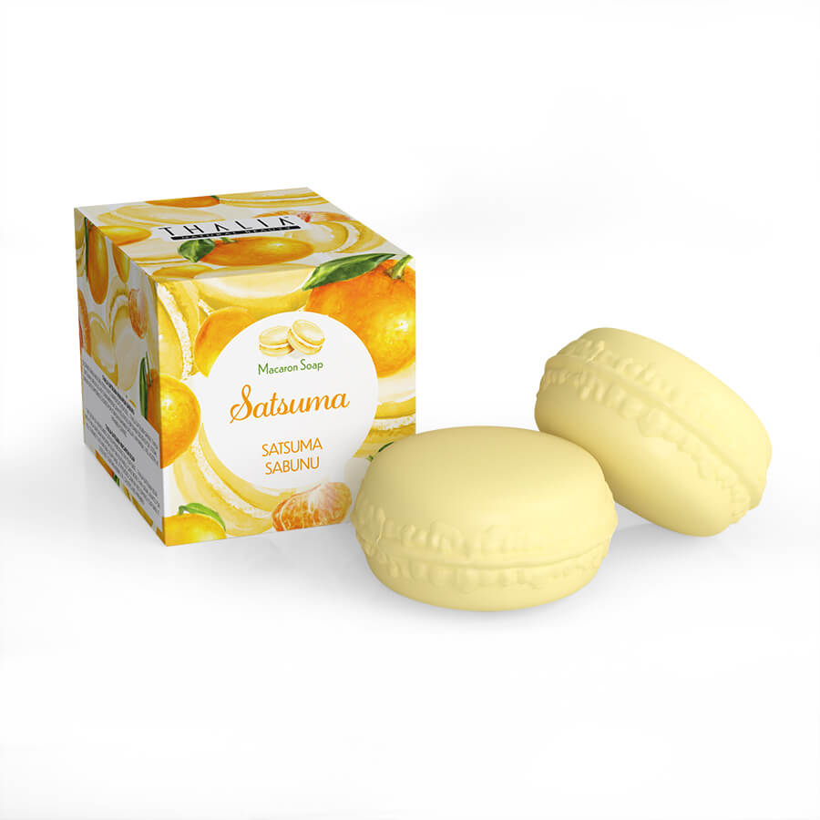 Satsuma Macaron Sabunu - 100 gr