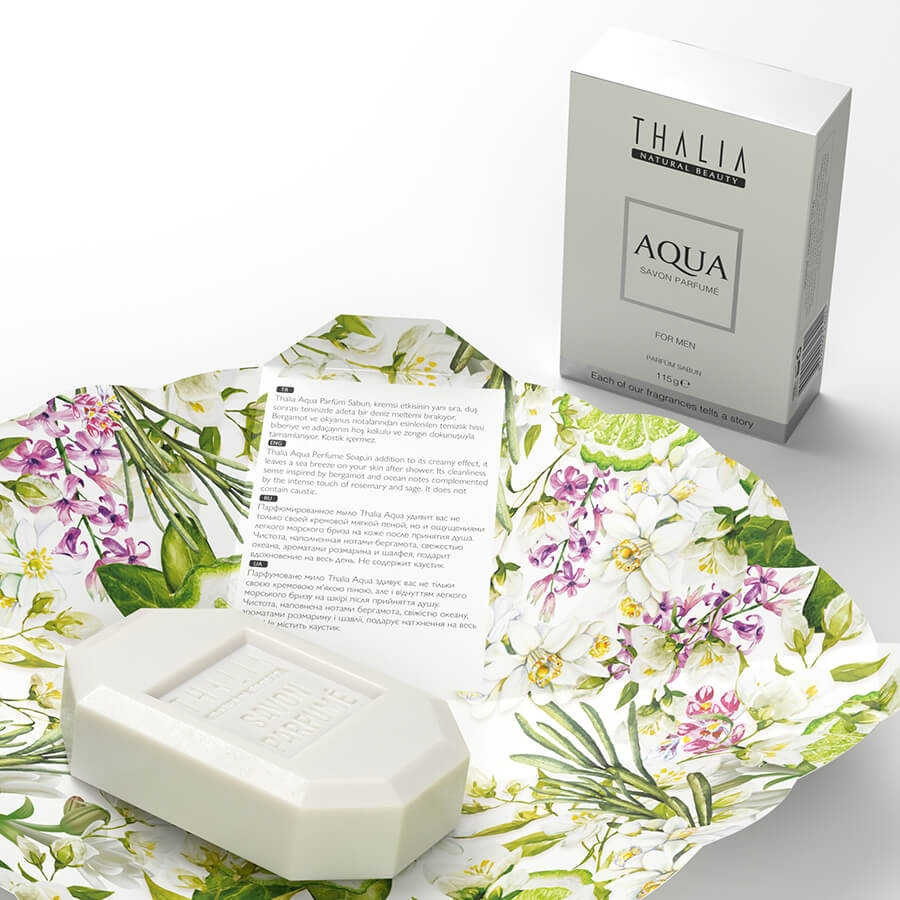 Thalia Aqua Men Parfüm Sabun 115 g