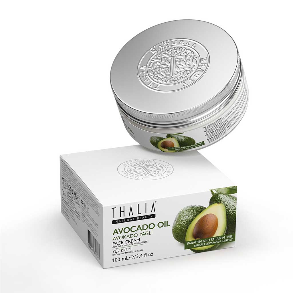 Avokado Yağlı Yüz Bakım Kremi – 100 ml