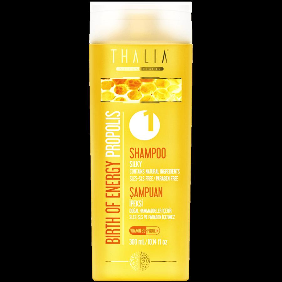 Thalia Birth Of Energy (Propolis Özlü) Bakım Şampuanı 300 ml / Sles-Sls-Tuz-Paraben İçermez