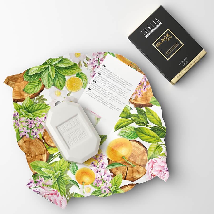 Thalia Black Oud Unisex Parfüm Sabun 115 g