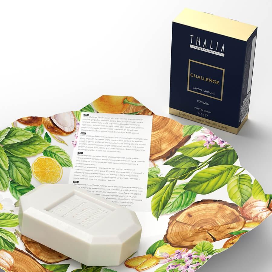 Thalia Challenge Men Parfüm Sabun 115 g