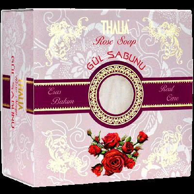 Thalia Doğal Gül Özlü Sabun 150 gr.