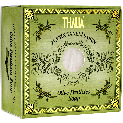 Thalia - Thalia Doğal Zeytin Taneli Sabun - 150 gr