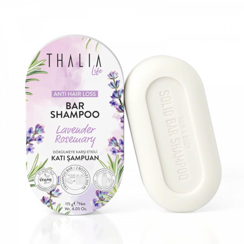 Thalia Dökülmeye Karşı Etkili Katı Şampuan 115 g