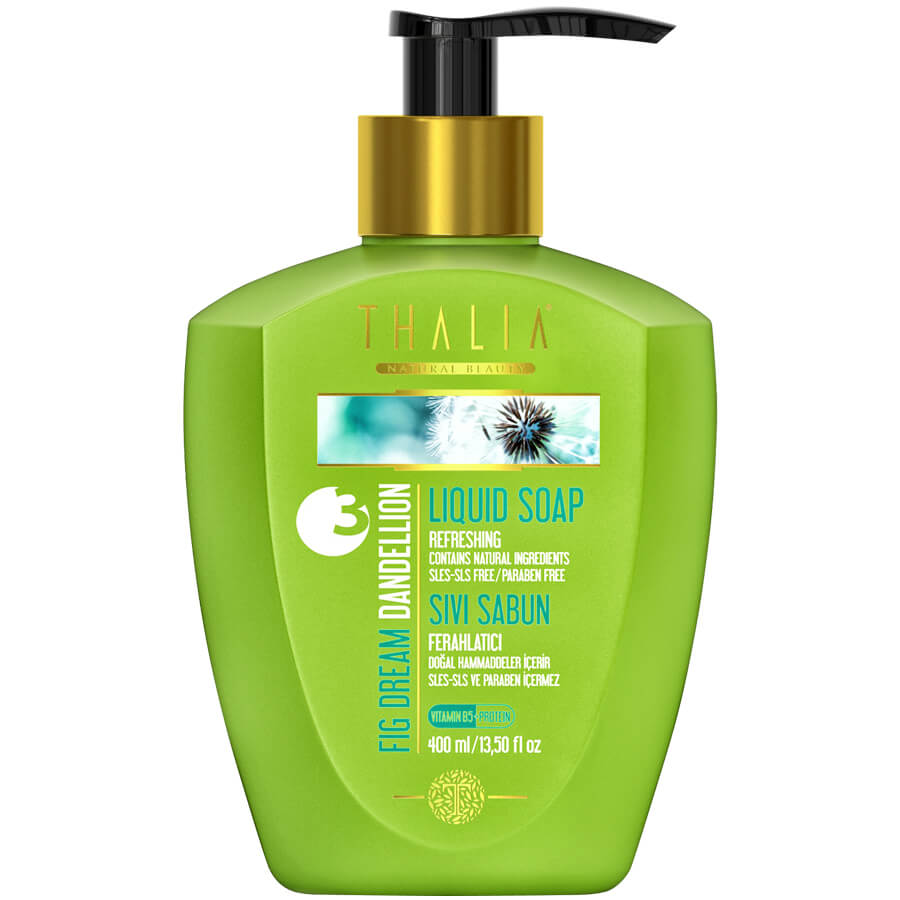 Thalia Fig Dream (Karahindiba Özü) Dandellion Sıvı Sabun 400 ml / Sles - Sls ve Paraben içermez