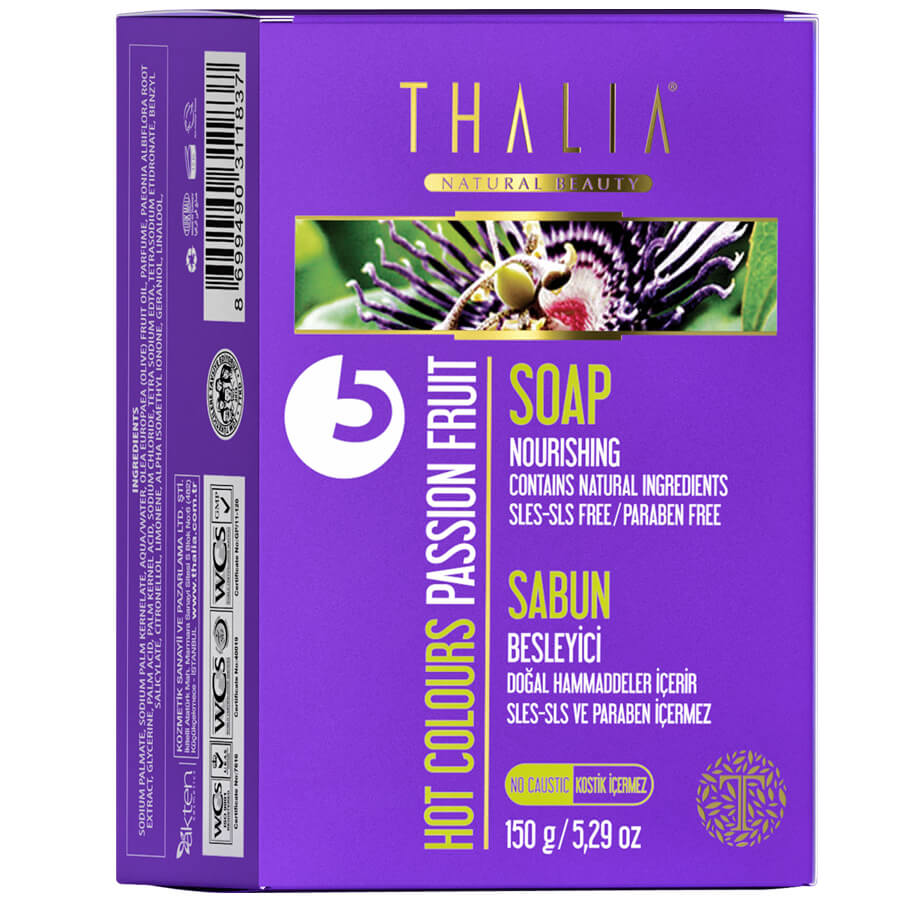Thalia Hot Colours (Çarkıfelek Meyvesi) Passion Fruit Katı Sabun 150 gr