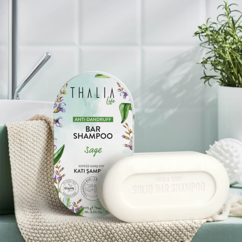 Thalia Kepeğe Karşı Etkili Katı Şampuan 115 g