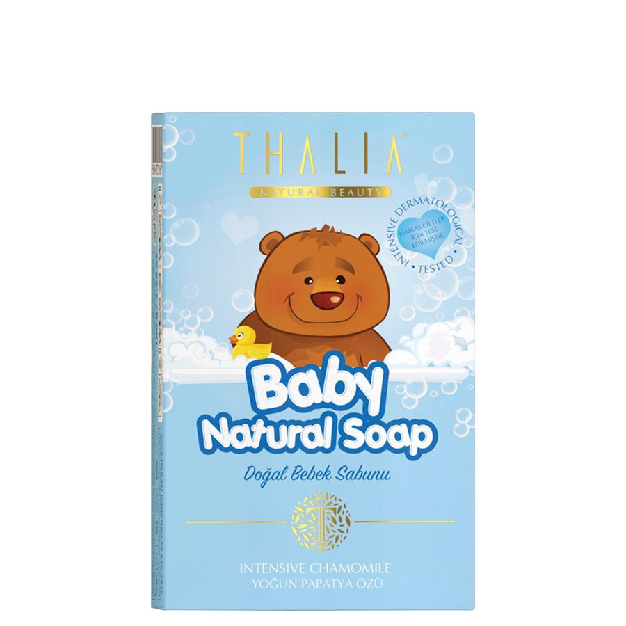 Thalia Natural Bebe Sabunu - Yoğun Papatya Özlü 100 g Blue