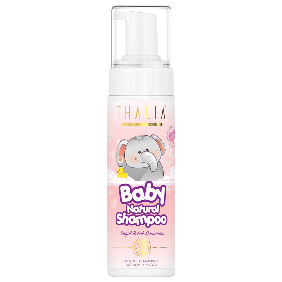 Thalia Natural Köpük Bebe Şampuanı 200 ml - Pink