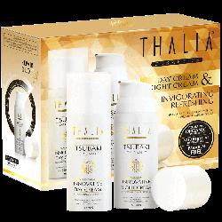 Thalia - Thalia Organik Tsubaki Yağlı Gece-Gündüz Yüz Bakım Kremi 2'li Set ( 50 ml X 2 )
