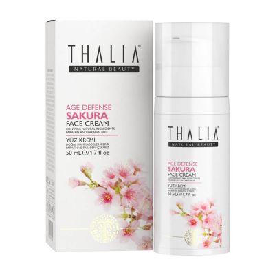 Thalia Sakura Özlü Yaşlanma Karşıtı Yüz Kremi- 50 ml