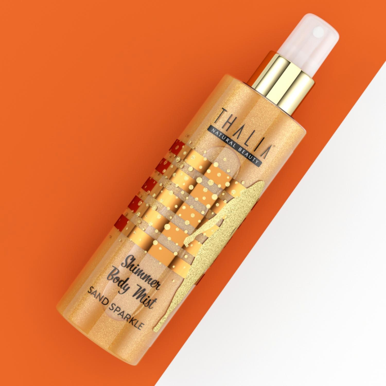 Thalia Sand Sparkle Shimmer Body Mist 200 ml