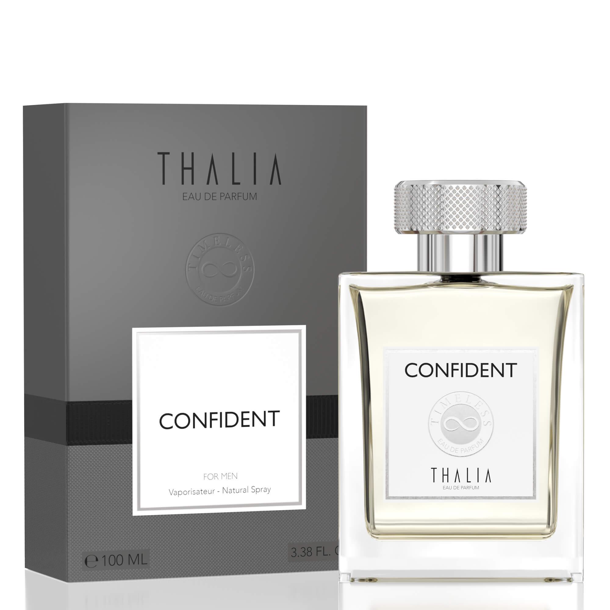 Thalia Timeless Confident Eau De Parfüm Men 100 Ml
